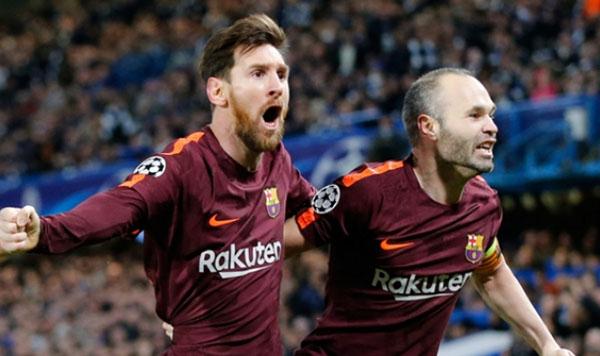 Messi empata un partido de balonmano