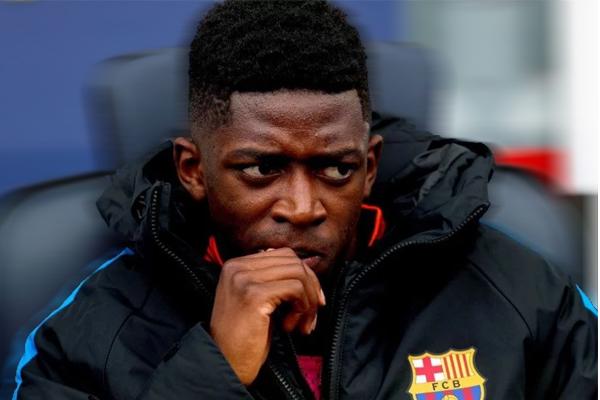 Dembélé empezara a ser titular con el Barça