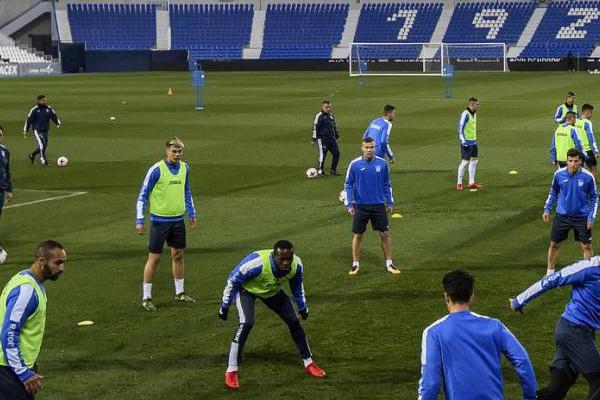 El Leganés se entrenó sin Tito ni Brasanac