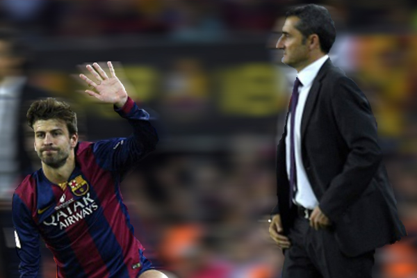 Piqué baja y las rotaciones del Barça