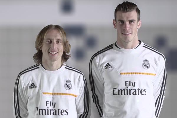 Ausencias de Bale y Modric en el entrenamiento