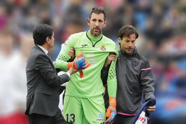 Diego López guardará reposo 2 semanas