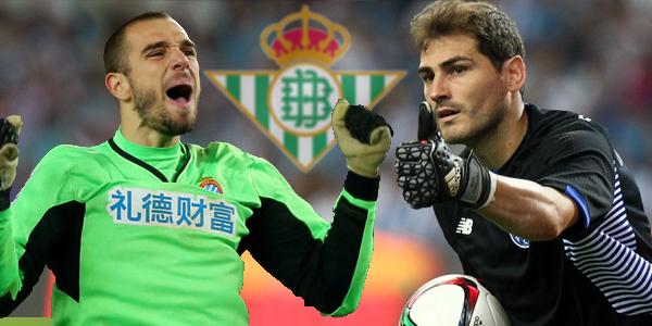 Iker Casillas y Pau López porteros del ¿Betis?